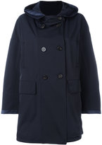 Moncler hooded mid-length coat
