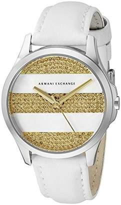 Armani Exchange Women's AX5240 Leather Watch