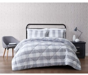 Truly Soft Everyday Buffalo Plaid Full/Queen Comforter Set Bedding