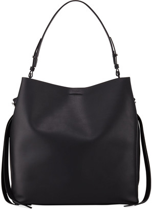 AllSaints Voltaire Large Leather Tote Bag