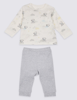 Tatty Teddy 2 Piece Pure Cotton Printed Top & Bottom Outfit