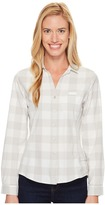 Woolrich Day Pack Convertible Shirt Women's Long Sleeve Button Up