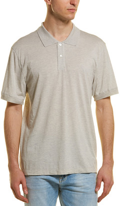 James Perse Jersey Cashmere-Blend Polo