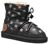 Pepe Jeans Kids's Angel Stars Lace-up Ankle Boots in Black
