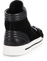 Marc by Marc Jacobs Leather & Suede High-Top Sneakers