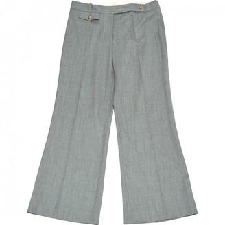 Michael Kors Grey Wool Trousers