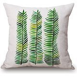 Beautifulseason Cushion Covers Of Plant 18 X 18 Inches / 45 By 45 Cm,best Fit For Monther,indoor,chair,bedroom,office,kids Room Twin Sides