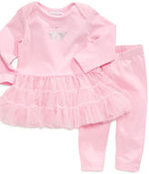 First Impressions Baby Set, Baby Girls Princess 2-Piece Tunic and Leggings