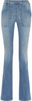 Frame Le Flare De Francoise High-rise Jeans - Mid denim