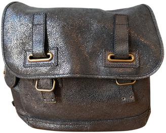 Saint Laurent Messenger Grey Leather Handbags