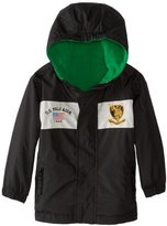 U.S. Polo Assn. U.S. Polo Association Little Boys' Reversible Mid Weight Jacket with Attached Hood