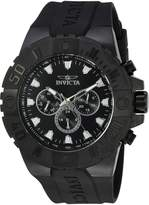 Invicta Men's 'Pro Diver' Quartz Stainless Steel and Polyurethane Casual Watch, Color: (Model: 23973)