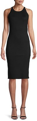 L'Agence Sleeveless Sheath Dress