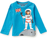 Joules Baby/Little Boys 12 Months-3T Finlay Space Man Screenprint Top
