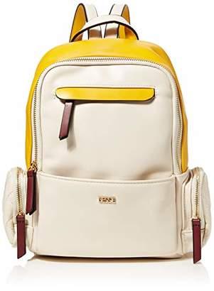BESSIE LONDON Womens Triple Coloured Backpack Backpack Handbag(W x H x L)