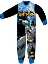 Batman Boys Licensed Micro Fleece Onesies Age 3 to 8 Years