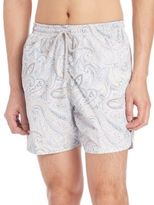 Saks Fifth Avenue COLLECTION Paisley-Print Swim Trunks