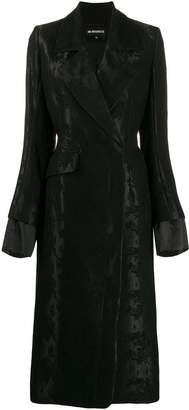 Ann Demeulemeester slim-fit double breasted coat