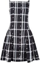 Vivienne Westwood checked pleated skirt dress
