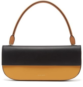 Danse Lente Baguette Leather Shoulder Bag - Orange Multi