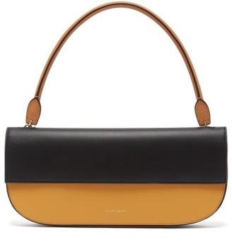 Danse Lente Baguette Leather Shoulder Bag - Womens - Orange Multi