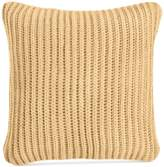 "Charter Club Damask Designs 20"" Square Sweater-Knit Decorative Pillow"