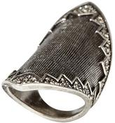 House of Harlow 1960 Pavé Crosshatch Ring