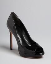 Rachel Roy Peep Toe Platform Pumps - Daphne High Heel