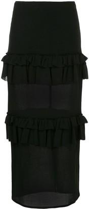 Georgia Alice Goldie ruffle skirt