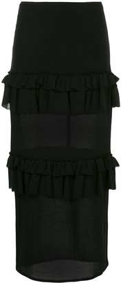 Georgia Alice Goldie ruffle skirt