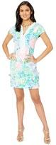 Lilly Pulitzer Casidy Stretch Shift Dress (Multi Bohemian Queen) Women's Dress
