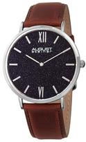 August Steiner Blue Sandstone Dial Watch, 44mm
