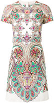 Etro Persian print dress - women - Cotton/Spandex/Elastane - 40