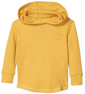Cotton On Hayden Hooded Top (Little Kids) (Honey Gold Marle/Smiley) Boy's Clothing