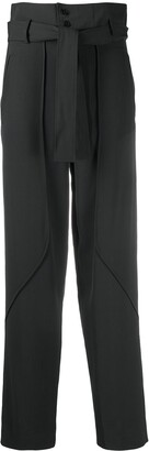 BA&SH High-Waisted Tie-Fastening Trousers