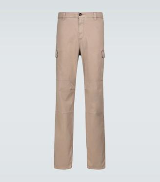 Brunello Cucinelli Stretch gabardine cargo pants