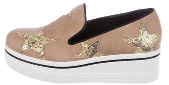 Stella McCartney Binx Star Platform Sneakers