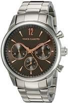Vince Camuto Men's VC/1085DGSV The Chairman Multi-Function Dial -Tone Bracelet Watch