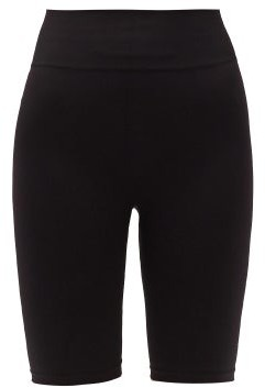 Prism2 Prism - Open Minded High-rise Cycling Shorts - Black