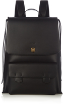 Gucci Tiger-head embossed backpack