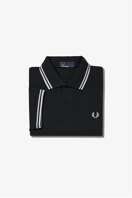 Fred Perry Short Sleeve Twin Tipped Polo Shirt