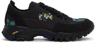 Cecilie Bahnsen Black Diemme Edition Floral Max Sneakers