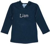 Princess Linens Navy Personalized Hoodie - Infant Toddler & Boys