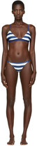 Solid and Striped Navy The Morgan Bikini