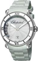 Chopard Women's 288525-3002 Happy Sport Round Waved Dial Watch