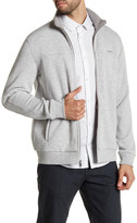 Calvin Klein Mock Neck Fleece Zip-Up