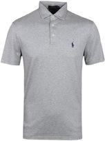 Polo Ralph Lauren Andover Heather Pima Soft Touch Polo Shirt