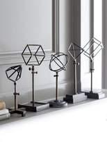 Regina-Andrew Design Geometric Shapes on Stand- Set of 5