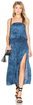Blue Life Good Karma Maxi Dress in Blue. - size S (also in )