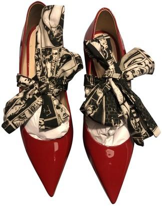 Prada Red Patent leather Heels